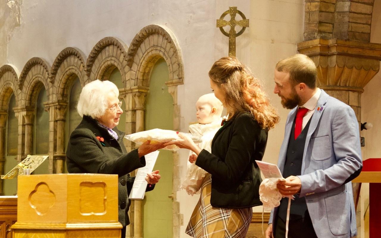 Baptism Shawl
